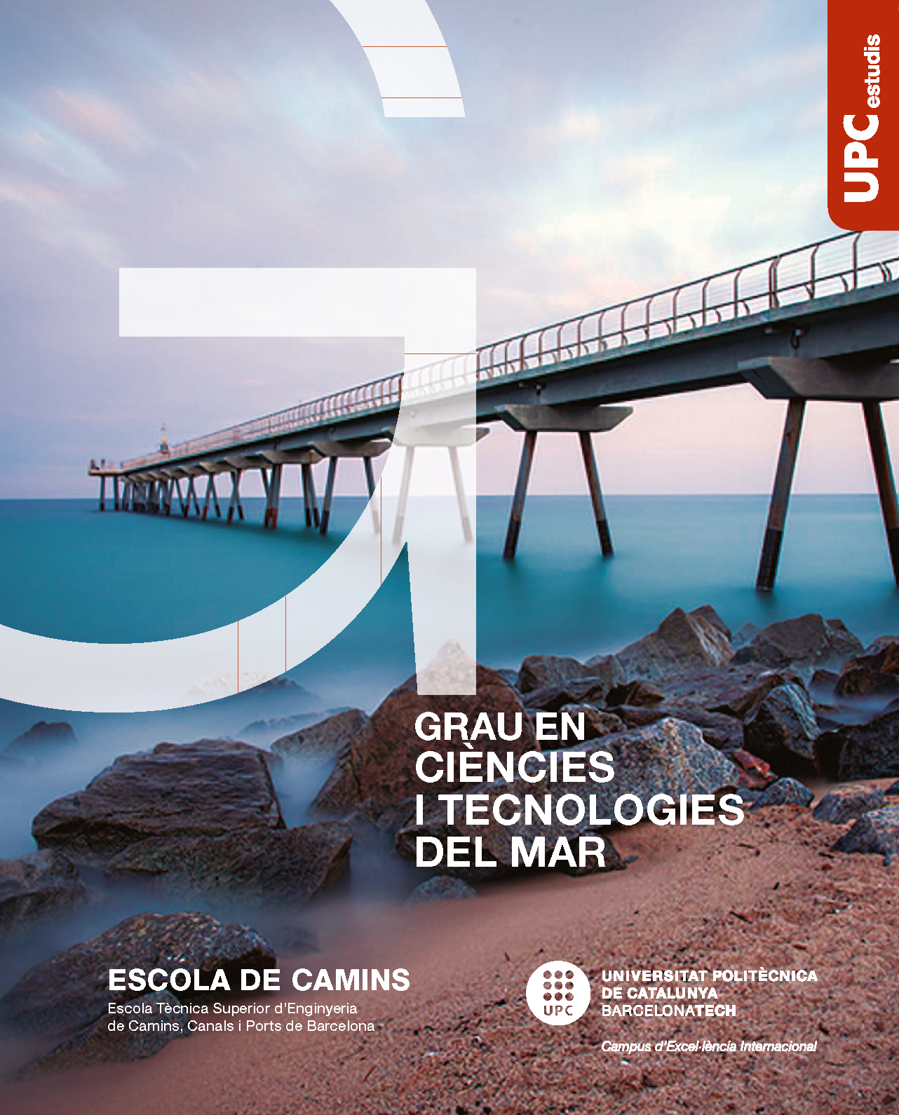 Brochure of the Bachelor's Degree in Marine Science & Technologies