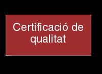 Certificació de qualitat