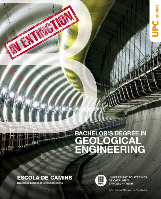 Bachelor's Degree in Geological Engineering brochure