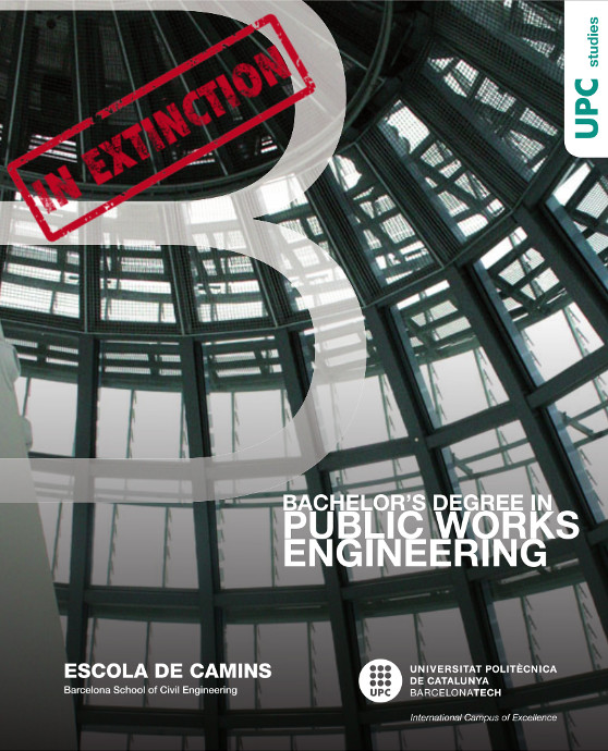 Degree in Public Works Engineering Booklet