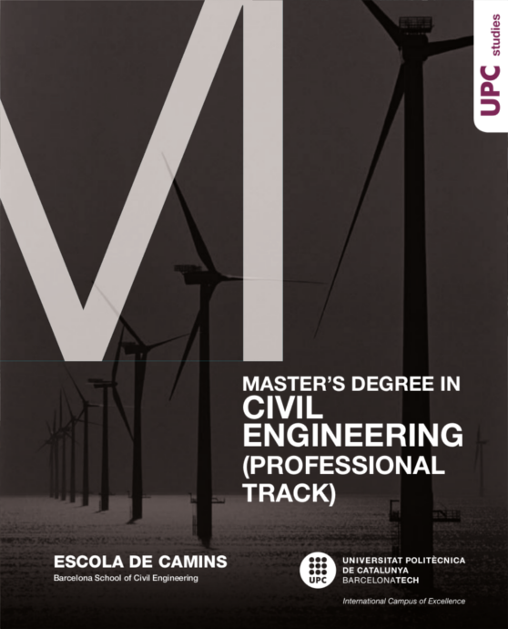 Brochure Master's Degree in Civil Engineering