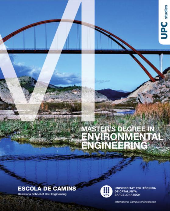 Brochure Master's Degree in Environmental Engineering