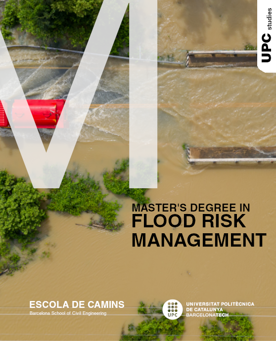 Brochure of the Master's Degree in Flood Risk Management
