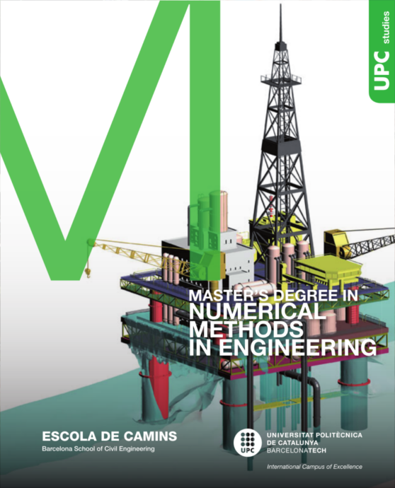 Brochure of the Master's Degree in Numerical Methods in Engineering