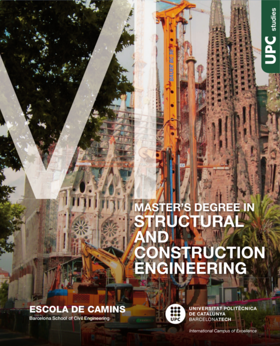 Brochure del Master's Degree in Structural & Construction Engineering