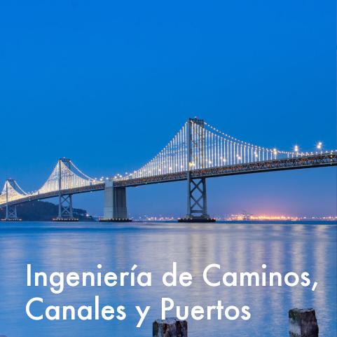 Grado en Tecnologías de Caminos, Canales y Puertos
